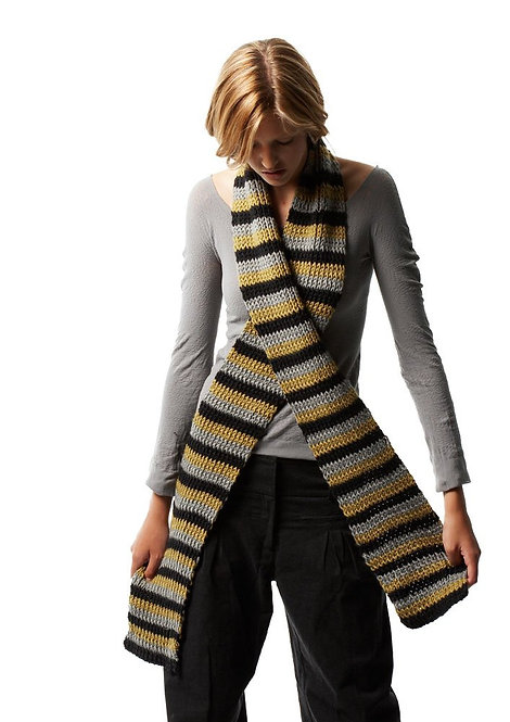 002 Ribbed Scarf  - digital download