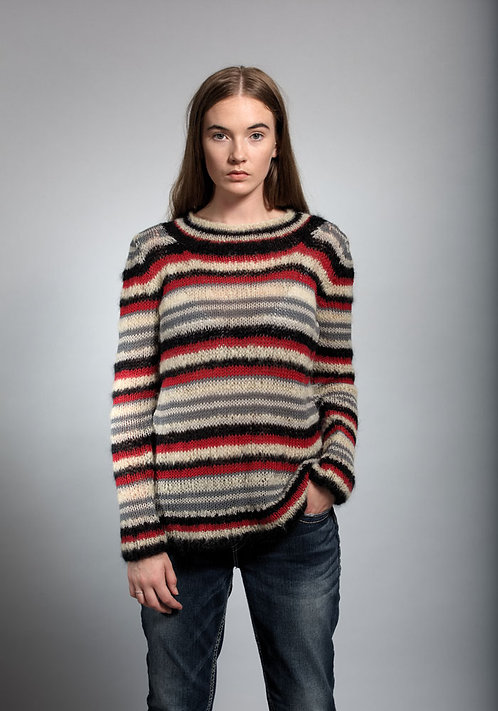 387 Paloma Stripe Sweater - digital download