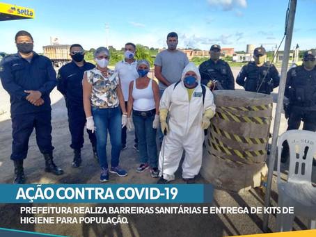 AÇÃO CONTRA O COVID-19