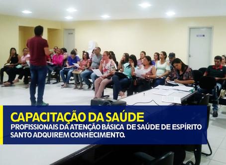 CAPACITAÇÃO DE SAÚDE