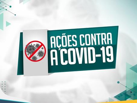 AÇÕES CONTRA O COVID-19