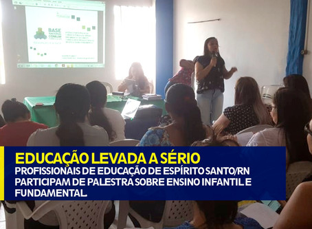 EDUCAÇÃO LEVADA A SÉRIO