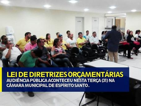 LEI DE DIRETRIZES ORÇAMENTARIAS