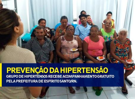PREVENÇÃO DE HIPERTENSÃO
