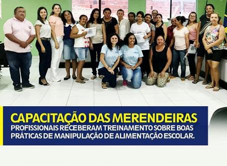 CAPACITAÇÃO DAS MERENDEIRAS
