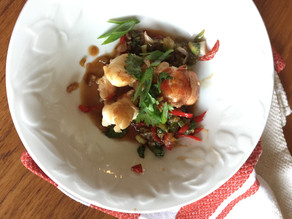 Lobster Tail in Tamarind Sauce