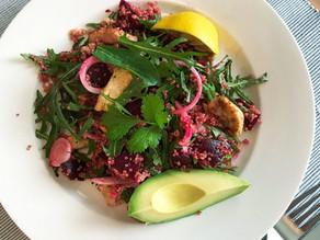Chicken Quinoa & Beetroot Salad