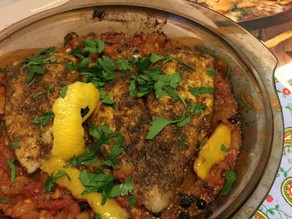 Baked Snapper in Moroccan Spices