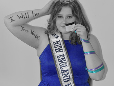 Break The Silence Fun Run, hosted by Miss New England High United States 2021, Taydence Hood