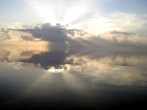 Sun Up on the Laguna