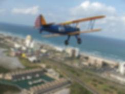 David Hughston Biplane