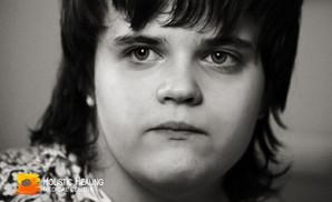 Creative work of Sonya Shatalova, a girl with autism