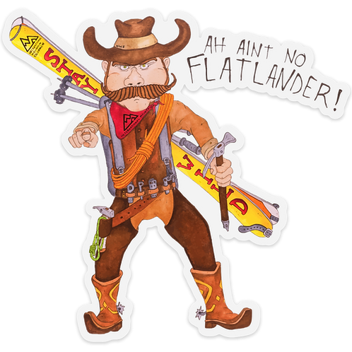 Big Cowboy Sticker