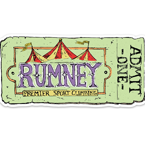 Wholesale Rumney Circus Sticker