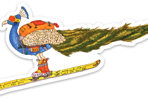 Skicock Sticker