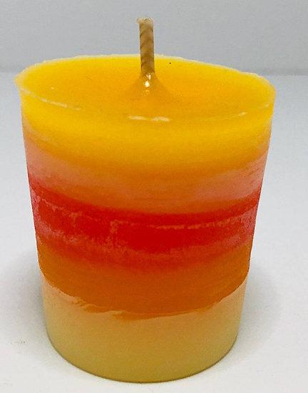 Sun Veneration Votive Candle