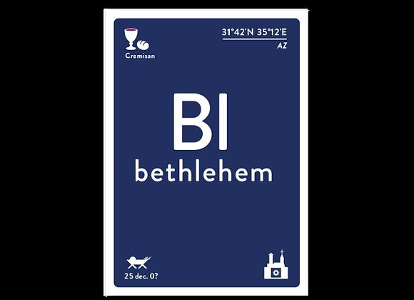 Bethlehem wenskaart