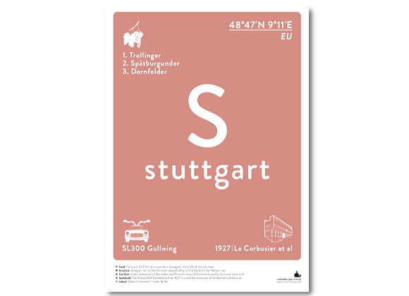 Stuttgart prints