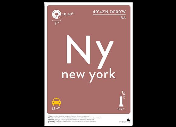 New York prints