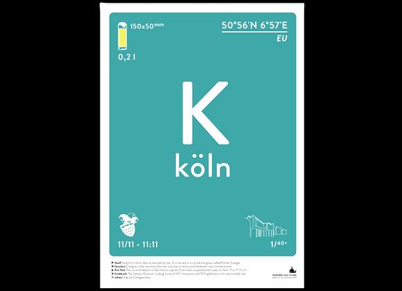 Köln prints