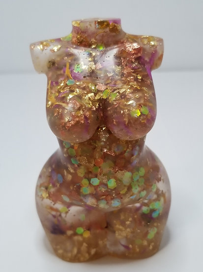 Resin Sculptures Copper Collection #2