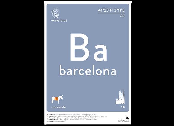 Barcelona prints