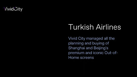 Turkish AIrlines Campaign