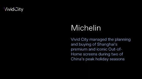 Michelin Campaign
