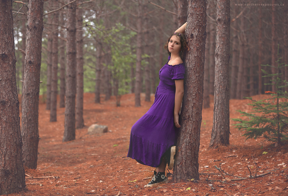 forest pose
