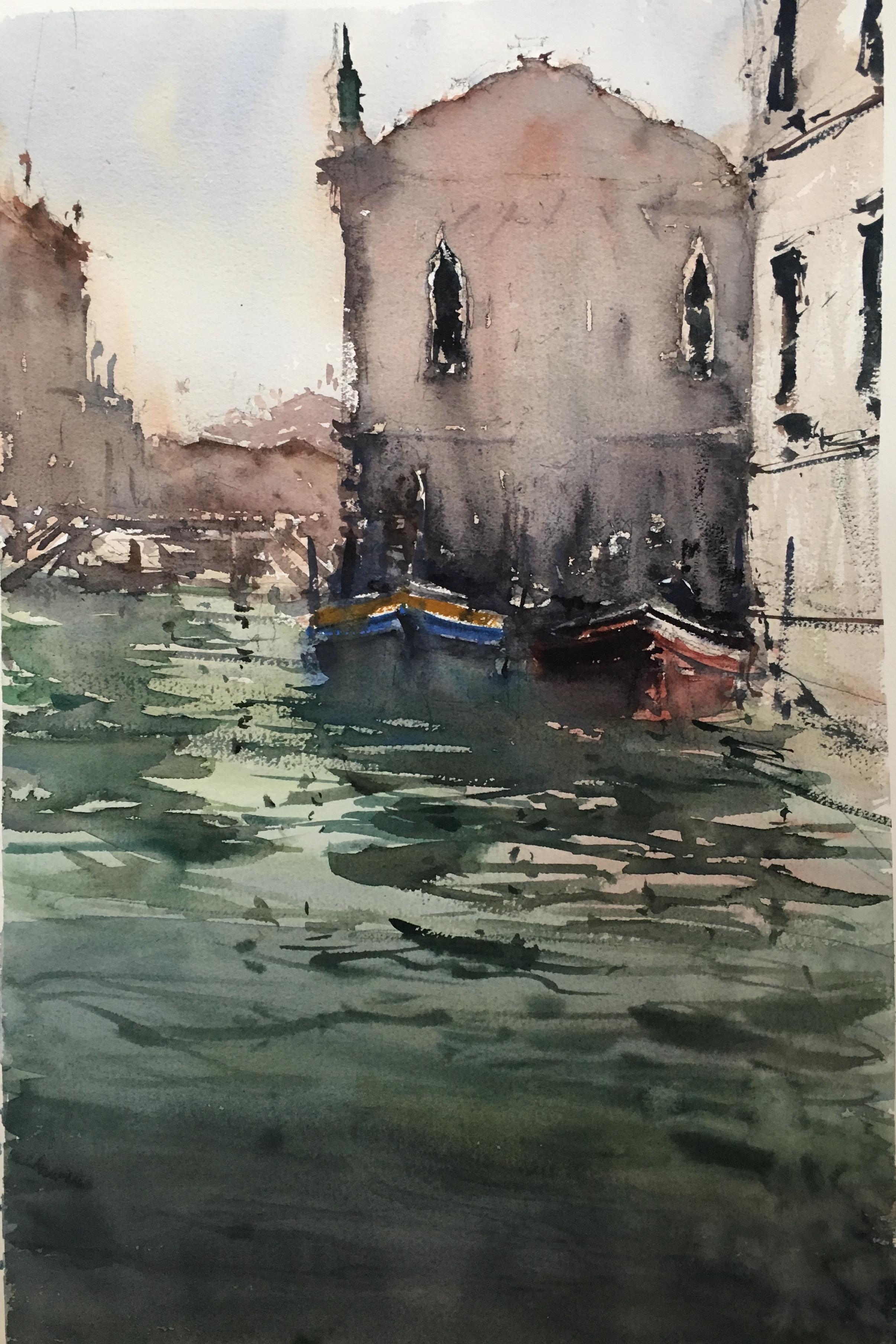 Двелодки, Венеция/ Two boats, Ven
