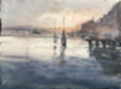 Вид на остров Бурано, Венеция/ Burano view, Venice