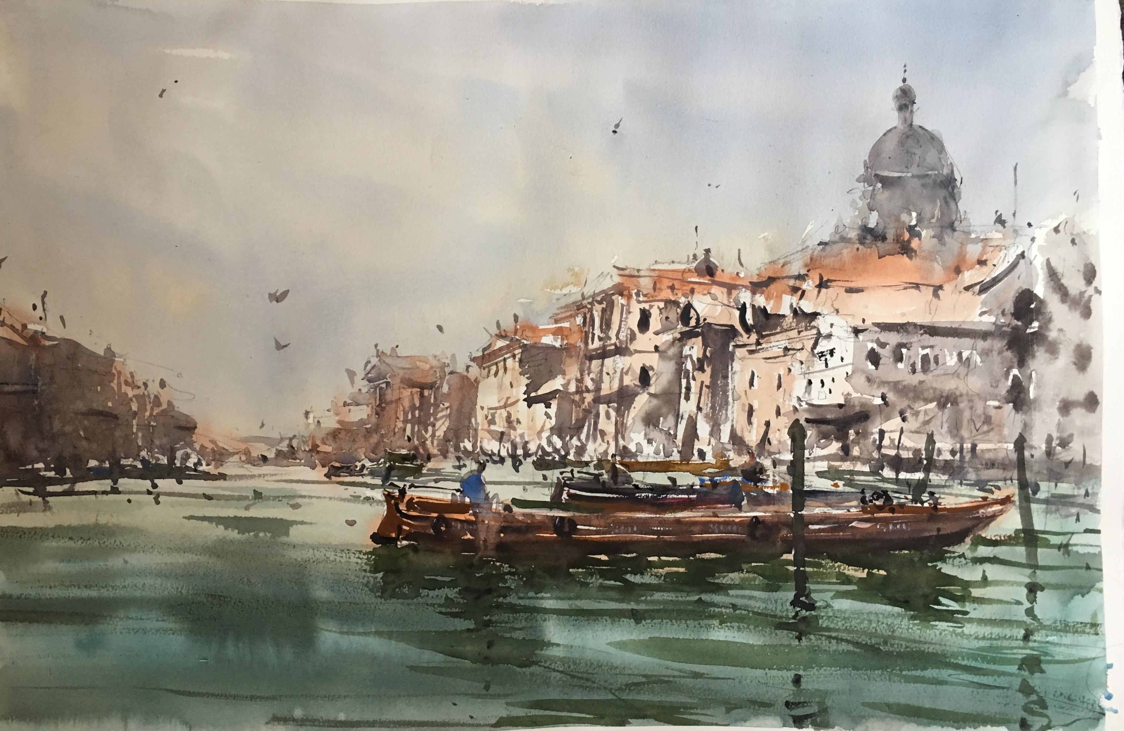 На Гранд Канале, Венеция/ At Grand