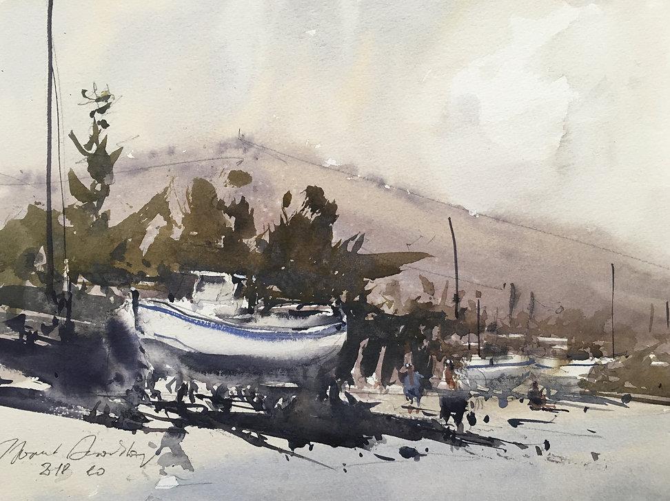 Лодка в Датча, Турция/ Boat in thebeaches, Datca,Turkey