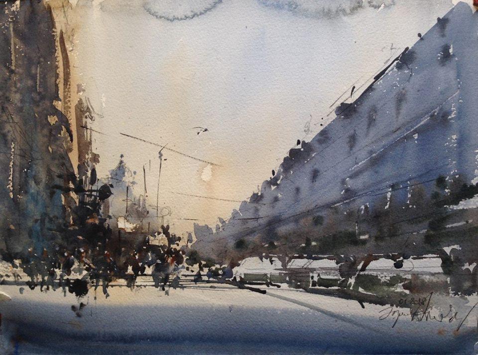 Главная улица в Ростове-на-Дону/ Ma
