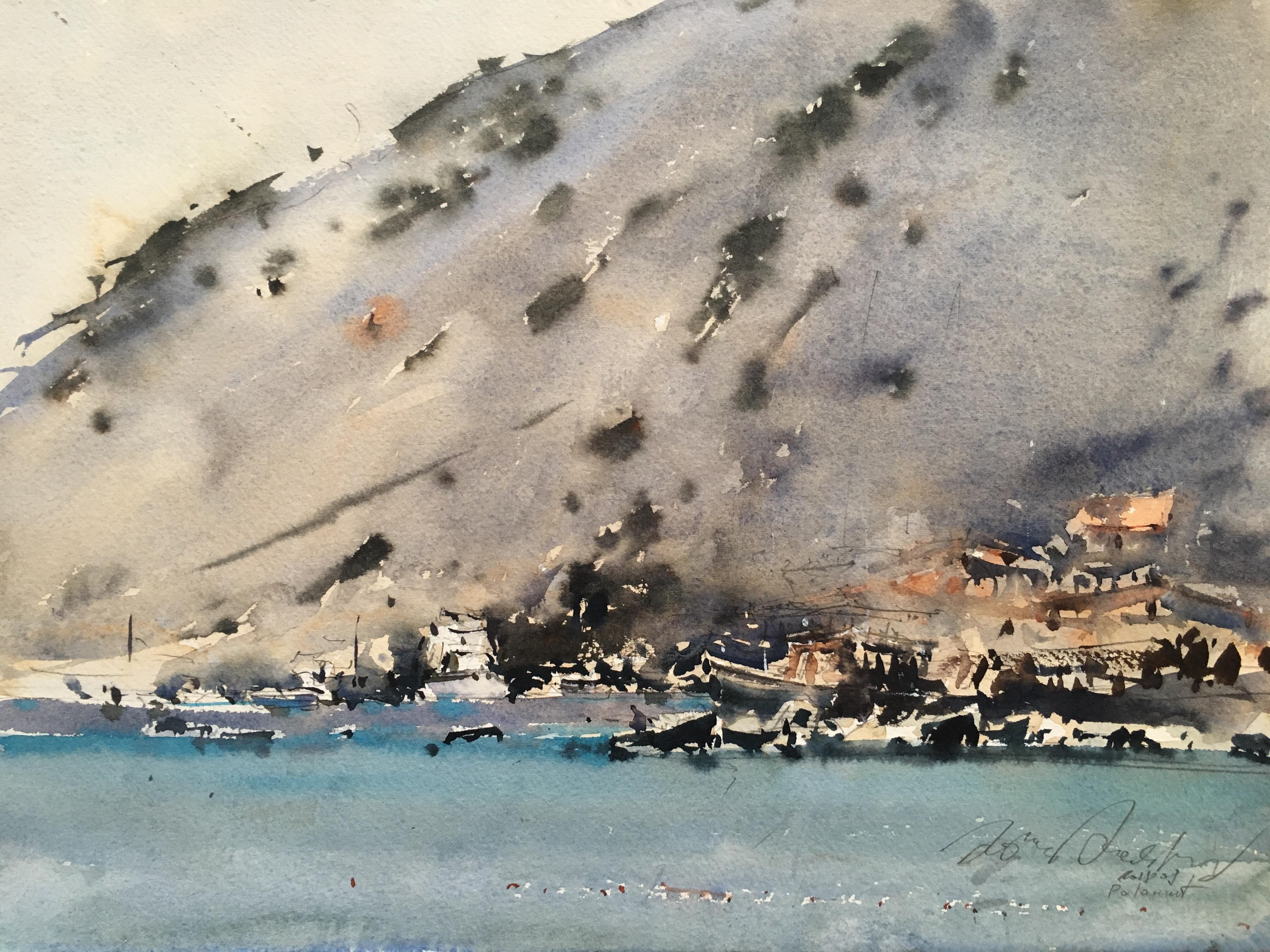 На пляжах в Паламут, Турция/ Palamu