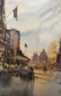 Время Спритс Апероль, Венеция/It is SpritzAperolTime Now, Venice