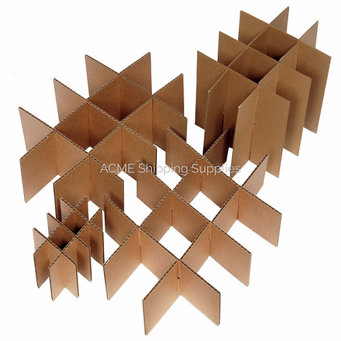 Cardboard Dividers - Partitions