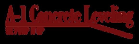 A-1 Concrete Leveling Logo