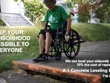 Sidewalks build real community