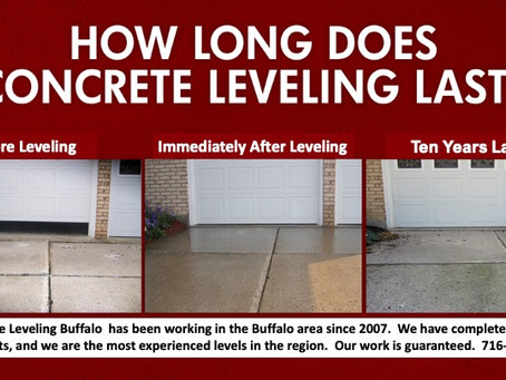 It's amazing how long concrete leveling lasts!