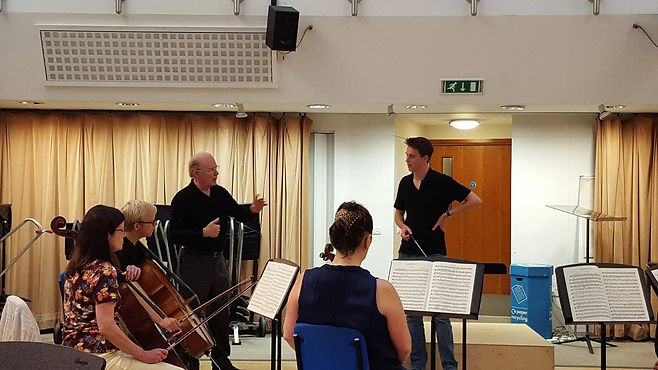 Conducting lesson in the Manoukian