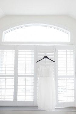 bright and airy short wedding dress bay head nj