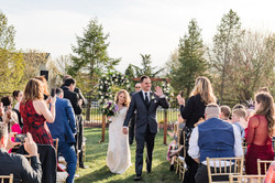 Freehold NJ backyard wedding ceremony