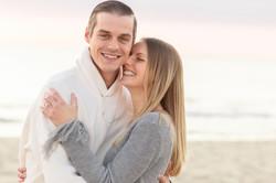 Sea Girt proposal smiling couple