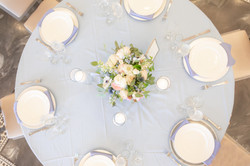 Galloping Hill Golf Course bridal shower tables cape