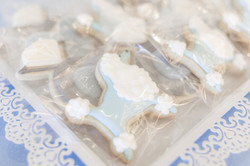 Galloping Hill Golf Course bridal shower poodle cookies