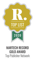 Martech Record Bronze 2020 Top Publisher