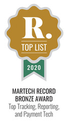 Martech Record 2020 Top Tracking Reporti