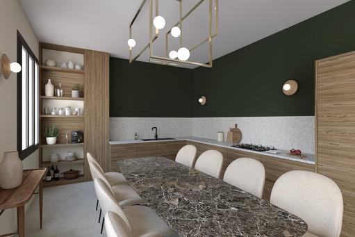 Visualisation 3D cuisine, Design Elémentaire