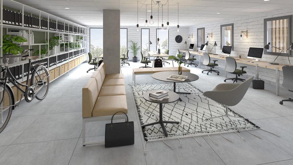 Espace Coworking, Design Elémentaire
